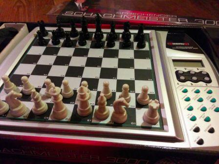 Millennium Sprechende Schachmeister 3000 - chess computer